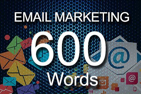 email Marketing 600 words