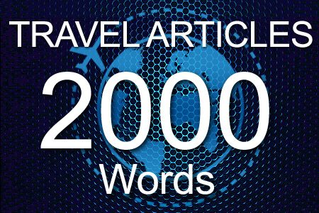 Travel Articles 2000 words