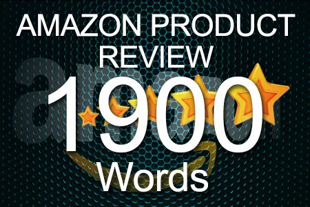 Amazon Review 1900 words