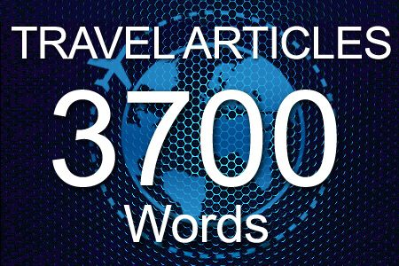 Travel Articles 3700 words