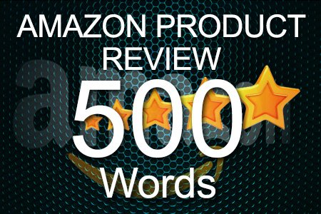 Amazon Review 500 words