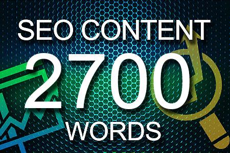 Seo Content 2700 words