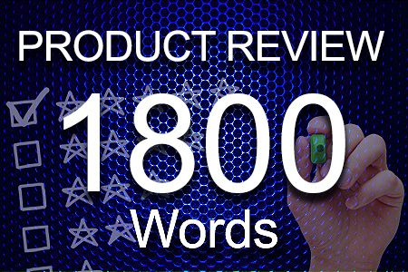 Product Review 1800 words
