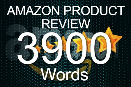 Amazon Review 3900 words