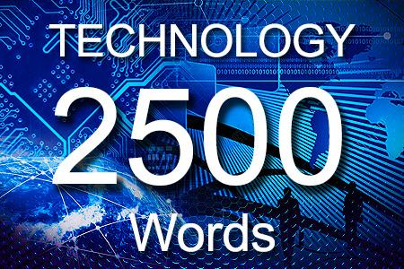 Technology Articles 2500 words