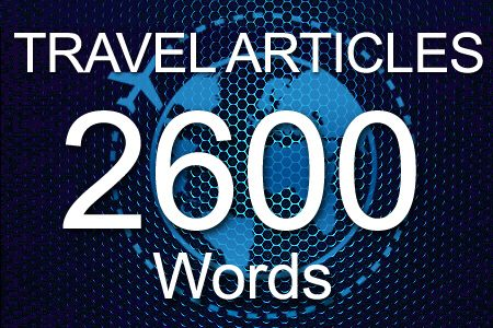 Travel Articles 2600 words