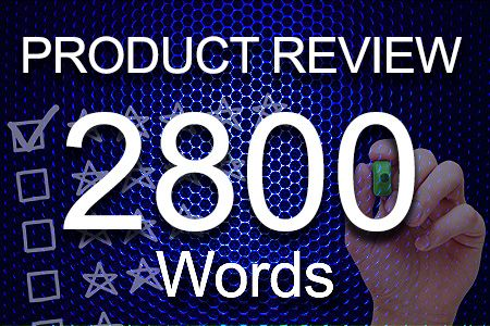 Product Review 2800 words