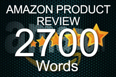 Amazon Review 2700 words