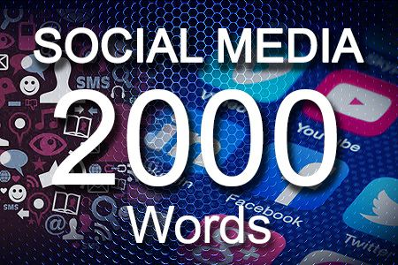 Social Media Posts 2000 words