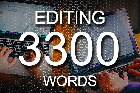 Editing Services 3300 words