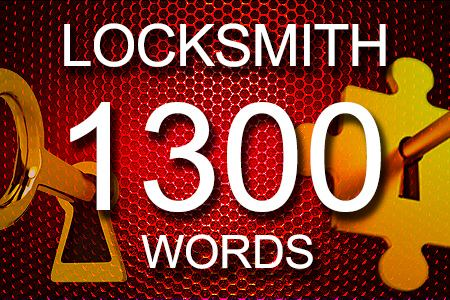 Locksmith Articles 1300 words