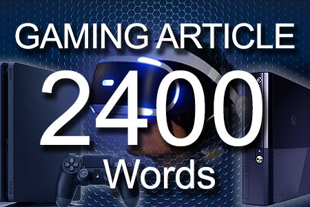 Gaming Articles 2400 words