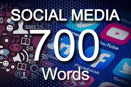 Social Media Posts 700 words