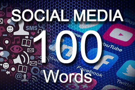 Social Media Posts 100 words
