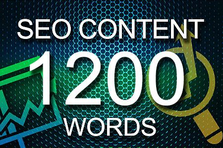 Seo Content 1200 words
