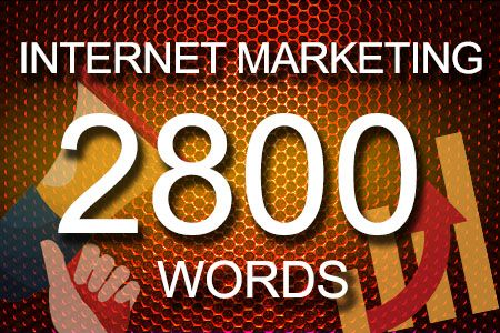 Internet Marketing 2800 words