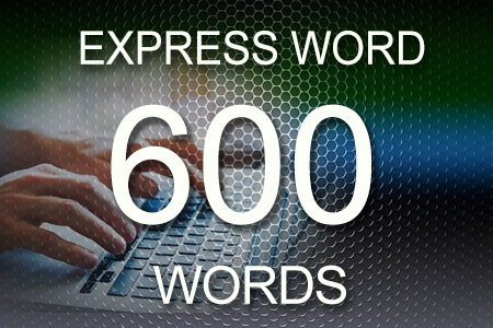 Express Word 600 words