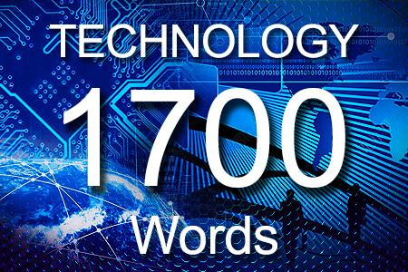 Technology Articles 1700 words