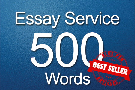 Essay Services 500 words