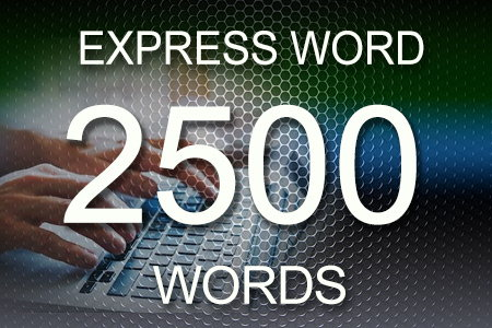 Express Word 2500 words