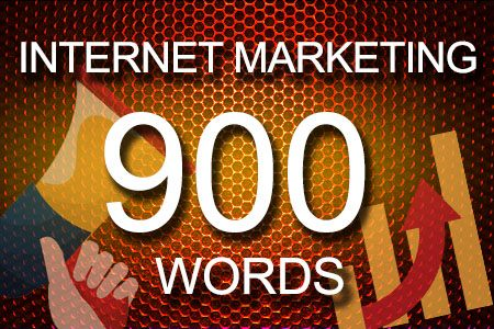 Internet Marketing 900 words