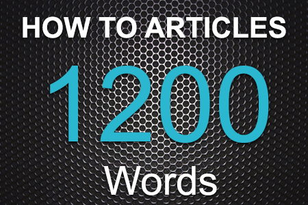 How To Articles 1200 words