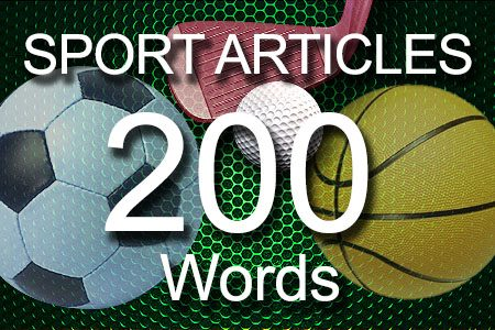 Sport Articles 200 words