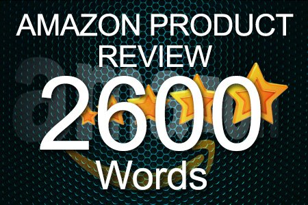 Amazon Review 2600 words