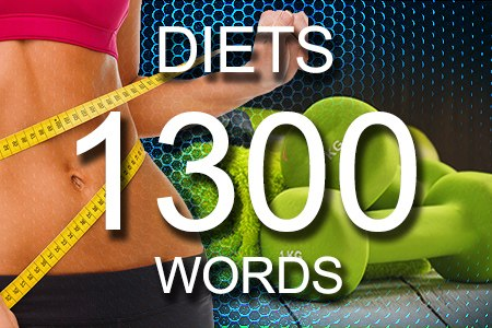 Diets Articles 1300 words