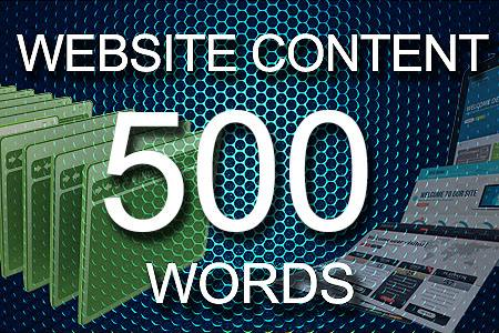 Website Content 500 words