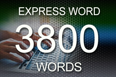 Express Word 3800 words