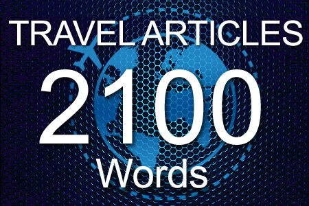 Travel Articles 2100 words