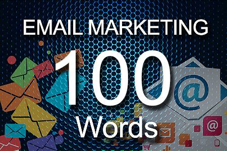email Marketing 100 words
