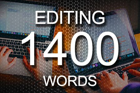 Editing Services 1400 words