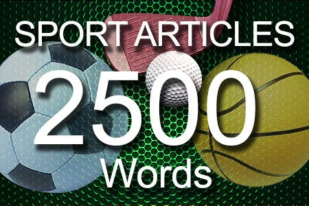 Sport Articles 2500 words
