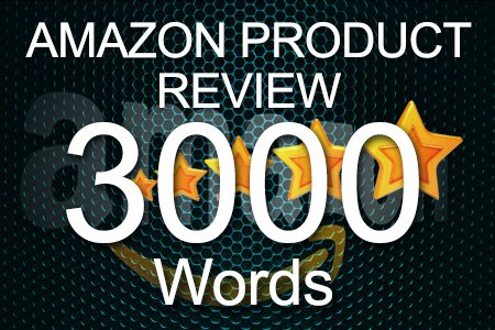 Amazon Review 3000 words