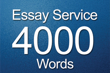 Essay Services 4000 words