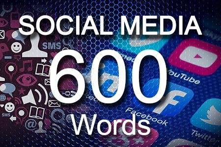 Social Media Posts 600 words