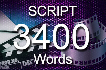 Scripts 3400 words