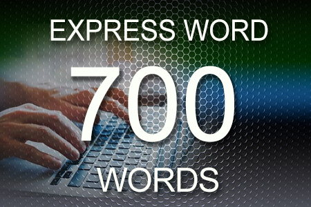 Express Word 700 words