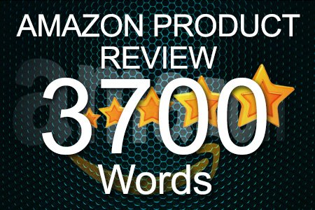 Amazon Review 3700 words
