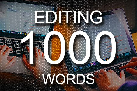 Editing Services 1000 words