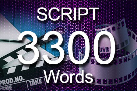 Scripts 3300 words