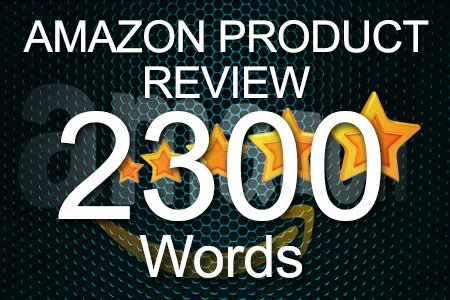 Amazon Review 2300 words
