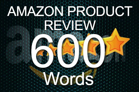 Amazon Review 600 words