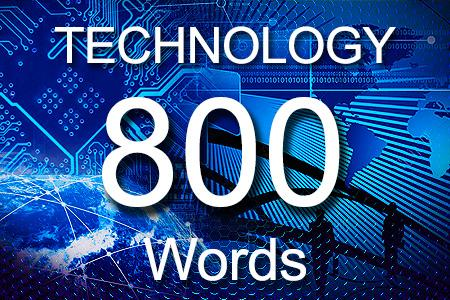 Technology Articles 800 words