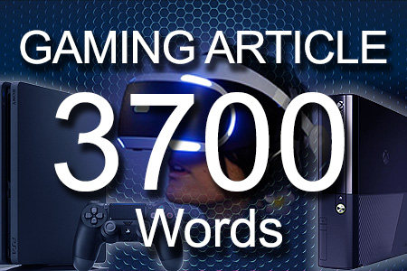 Gaming Articles 3700 words