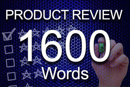 Product Review 1600 words