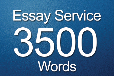 Essay Services 3500 words
