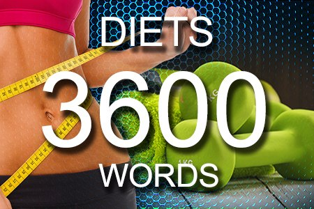 Diets Articles 3600 words